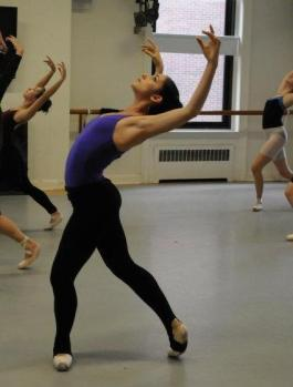 """rehearsal for Columbia Ballet Collaborative, Claudia Schreier's """"Chaconne"""", 2011"""